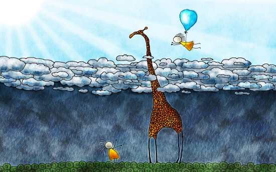 giraffe-clouds-kids