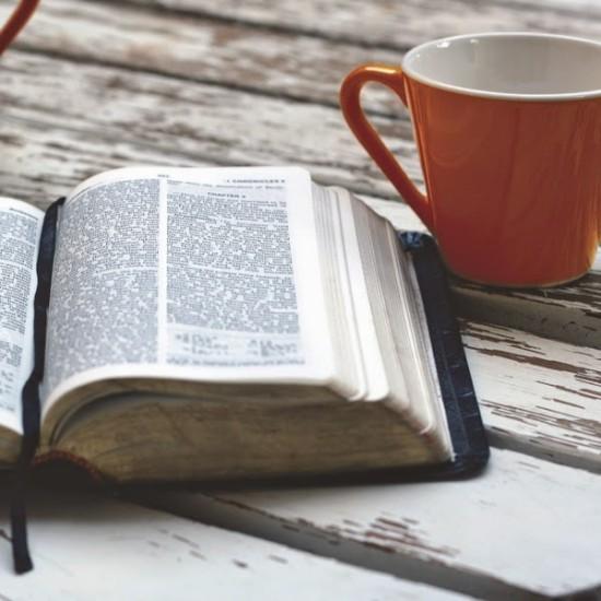 Bible and Coffee Mug [166764]