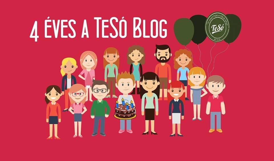 4 éves a blog